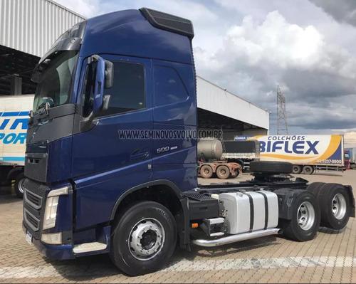 volvo fh-500 globetrotter 6x2  i-shift 2015/2016 azul