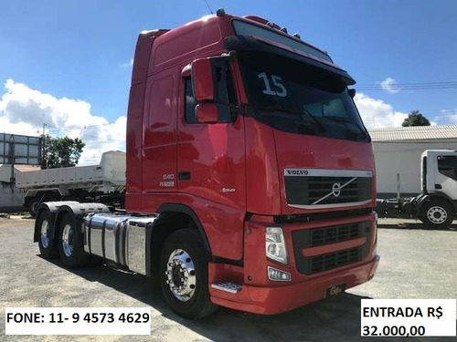 volvo fh 540 globetrotter 6x4 ano 2015/15