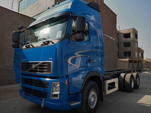 volvo fh13 camion chasis  480hp  globetrotter