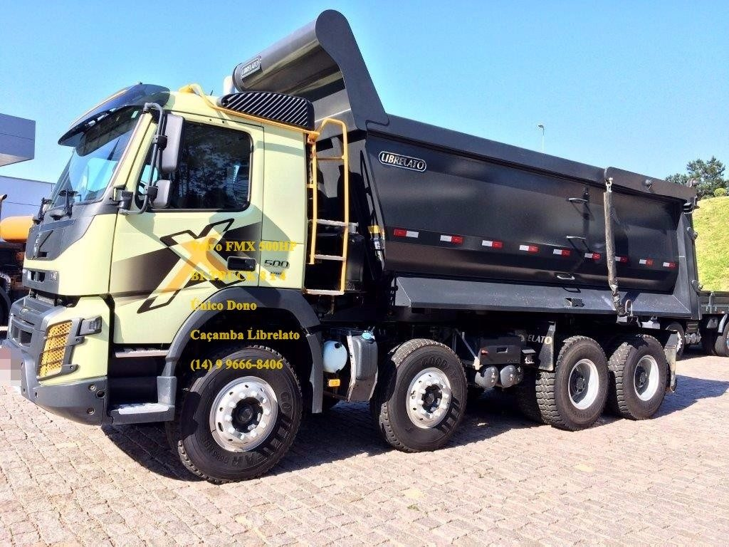volvo fmx 500 hp com ca amba librelato bi truck 8x4 6x4. Black Bedroom Furniture Sets. Home Design Ideas