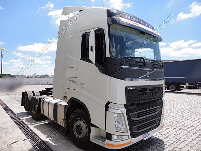 volvo new fh 460 6x2 globetrotter i shift top oportunidade. Black Bedroom Furniture Sets. Home Design Ideas