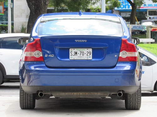 volvo s40 2.5 t5 kinetic geartronic turbo at 2007