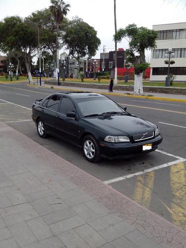 volvo s40 sedan cuero mecanico full deportivo sin turbo a/c