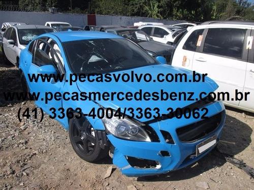 volvo s60 2012 t4 1.6 turbo motor / lanterna / airbag
