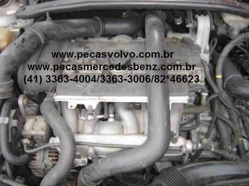 volvo s60 2.4t sucata peças / motor / farol / cambio