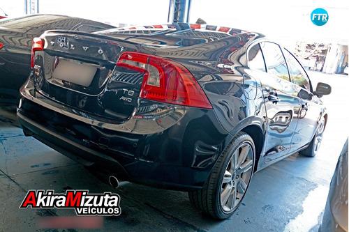 volvo s60 3.0 t6 top awd turbo gasolina 4p automático
