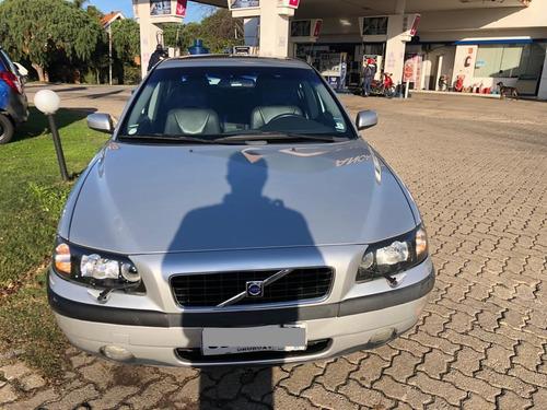 volvo s60 turbo diesel. unico dueño. impecable
