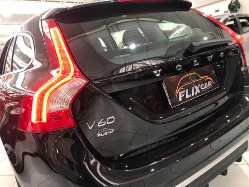 volvo v60 t5 r-design dynamic 2.0 turbo - 2013 - teto solar