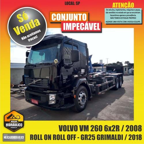 volvo vm 260 6x2r / 2008 - roll on roll off grimaldi / 2018