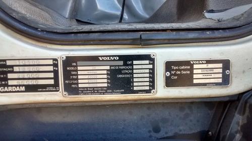 volvo vm 260 bitruck 8x2 ano 2009/10 (no chassi) motor feito