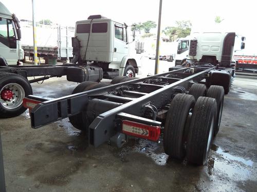 volvo vm 270 14/15 bitruck automático c/ 10 pneus novos