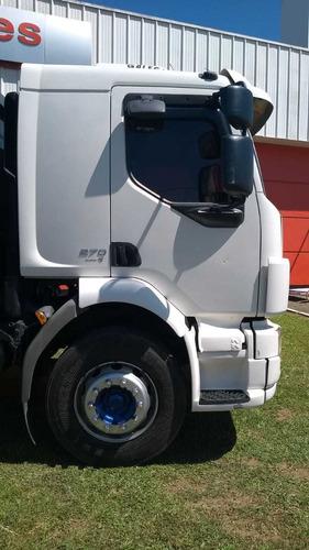 volvo vm 270 8x2 branco  2012 carroceria graneleira bitruck