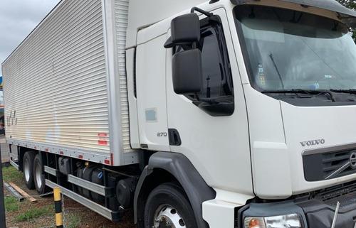volvo - vm 270 truck baú leito 2013