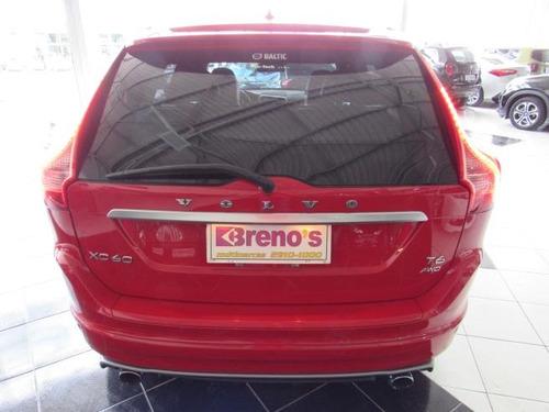volvo xc60 3.0 t6 rd awd turbo gasolina  (blindada) 2014