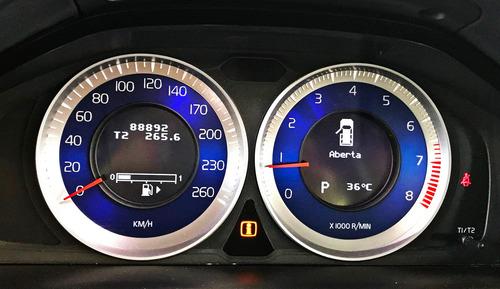 volvo xc60 t5 r-design c/ teto solar 2.0. preto 2012/13