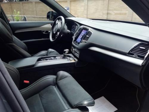 volvo xc90 t6 awd r-design 2.0 turbo supercargador aut suv