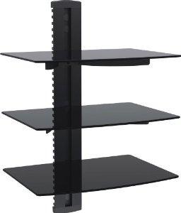 vonhaus por estantes hábitat 3x negro flotantes de diseño co