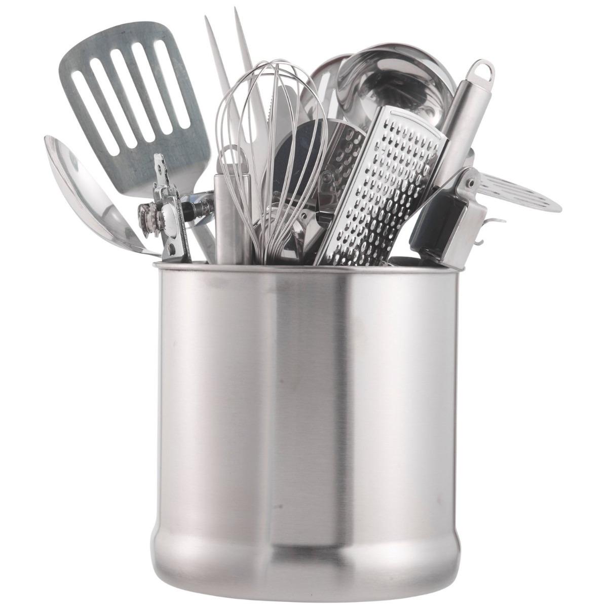 Vonshef Organizador De Utensilios De Cocina Acero Inox - $ 1,290.00 ...