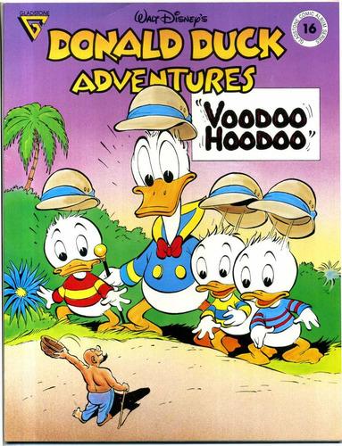 voodoo hoodoo (pato donald na áfrica) - importado