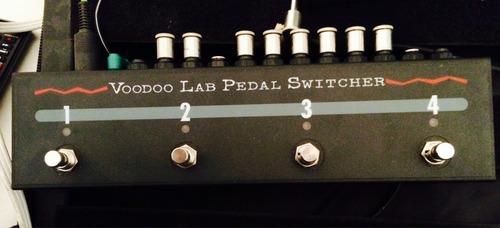 voodoo lab pedal switcher loop efectos