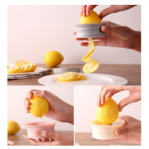 voomwa cortadora de limón rotativa portátil