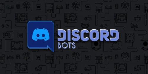 vou programar um bot para seu servidor do discord