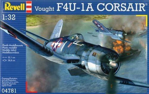 vought f4u-1a corsair escala 1/32 revell 04781