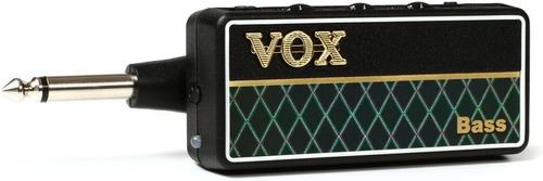 vox amplug 2 bass headphone amp w/analog hard work sound