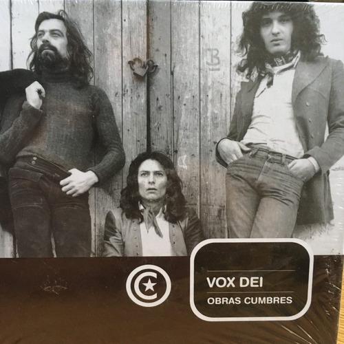 vox dei obras cumbres - cd + libro - la nacion