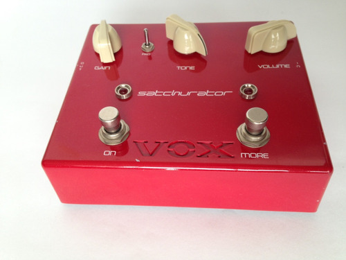vox joe satriani sachturator distortion