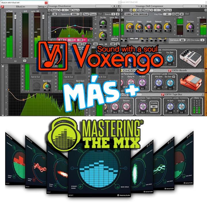 Voxengo + The Mix Mastering - Win 32/64bit Plugins - $ 80,00