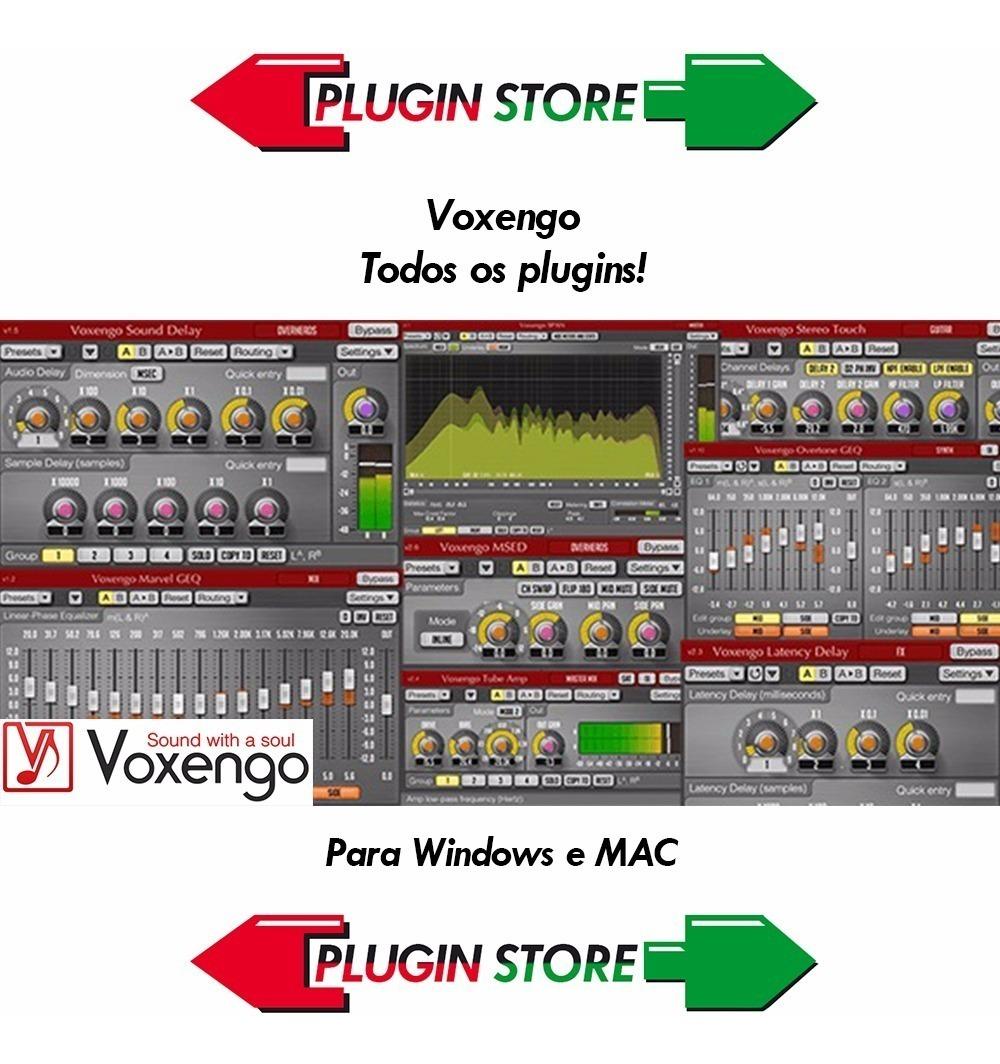 Voxengo - Todos Os Plugins - Plugin Vst - Win E Mac
