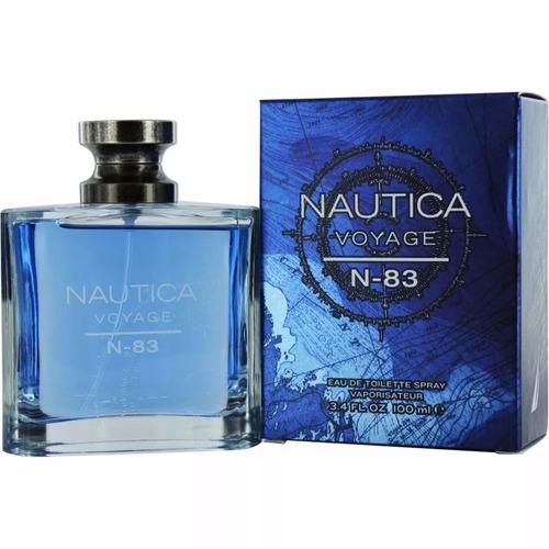 voyage n-83 de nautica --  eau de toilette 100ml