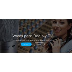 Voz Para Comerciales Radio O Television Locutor Grabacion