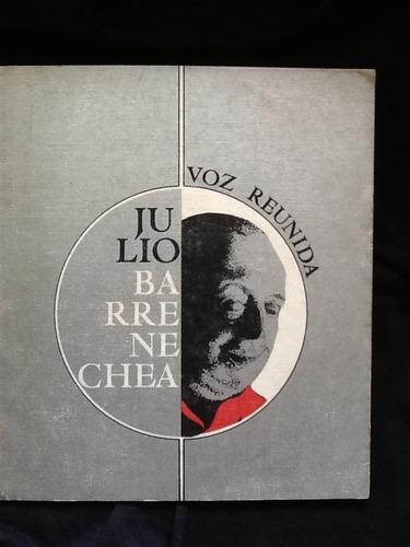 voz reunida - julio barrenechea - 1975