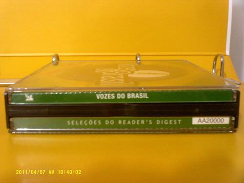 vozes do brasil - box com 4 cds - vários artístas