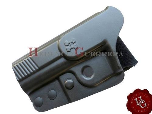 (vp) pistolera houston linea k ext bersa 22/380 zurda k42z