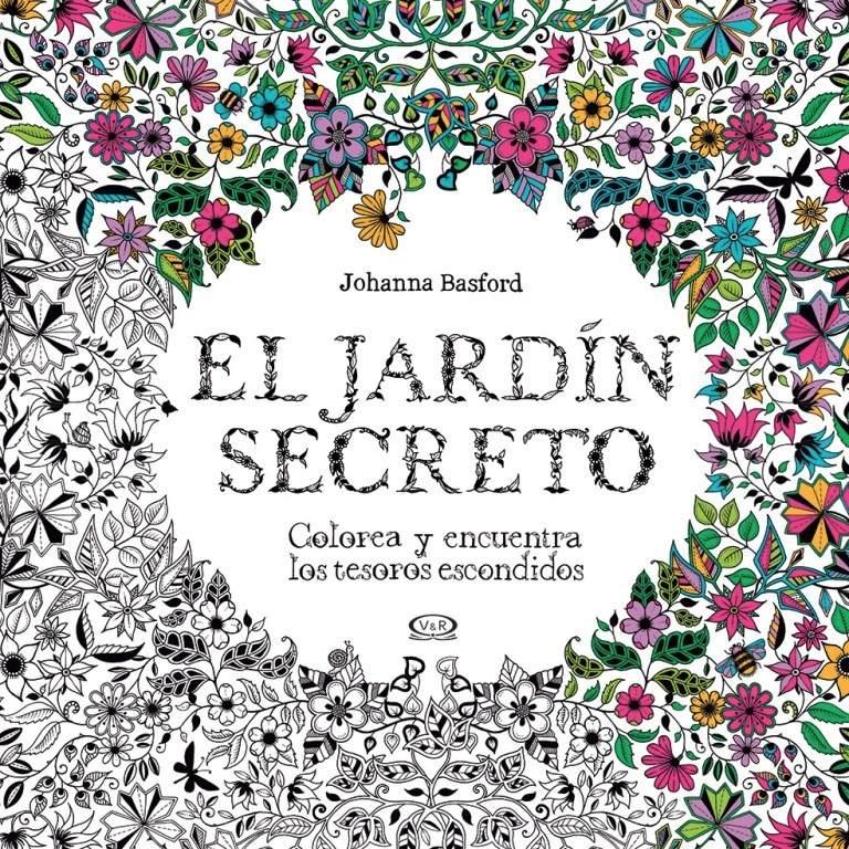 V&r Arte Para Colorear El Jardín Secreto (8399) - $ 329,00 en ...