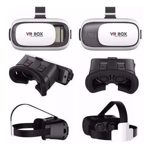 vr box 1.0 lentes realidad virtual 3d android control remoto