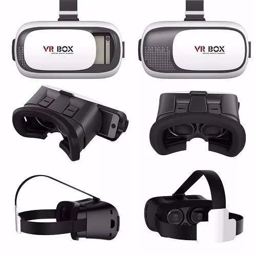 vr box 2.0 lentes realidad virtual 3d android control remoto