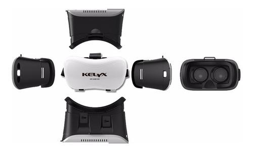 vr box 2g anteojos realidad virtual lentes gafas 3d kelyx