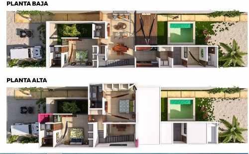 vrp-17003 funcional villa en preventa en chicxulub con piscina