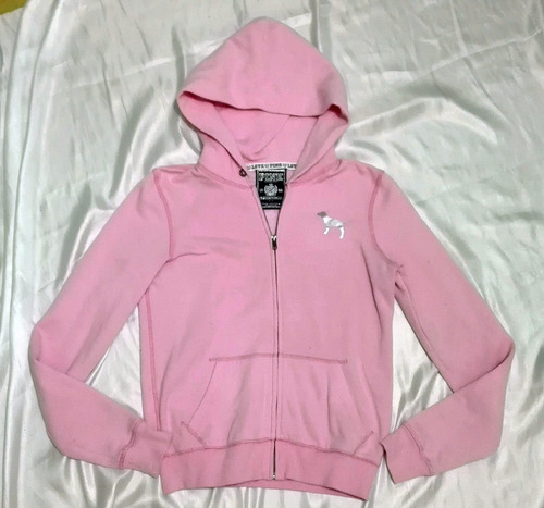 vs pink by victoria´s secret sudadera rosa chica