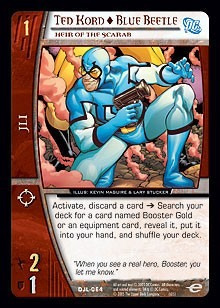 vs system ted kord blue beetle djl-064