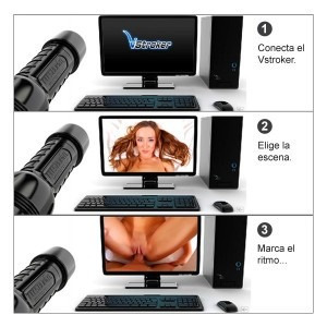 vstrocker virtual sex system para fleshlight