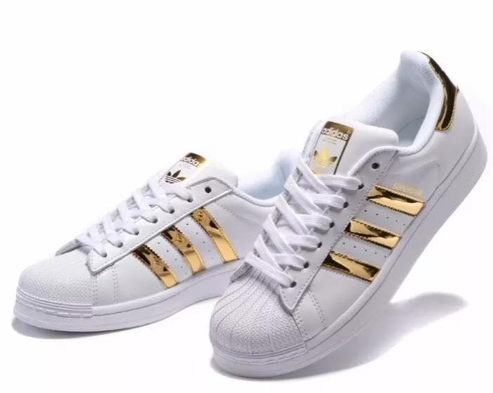 0ca9c5930d5 Vsv adidas Superstar De Dama Dorado 36 - 40 (tienda Fisica) - Bs ...