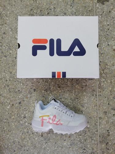 vsv zapatos fila disruptor 2 (2019) tienda fisica