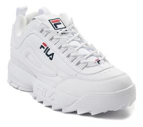 color atractivo cómo hacer pedidos comprar bien Vsv Zapatos Fila Disruptor Blanco (2019) Tienda Fisica