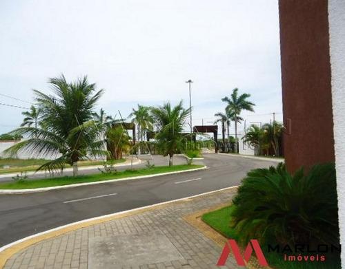 vt00837 terreno condominio flora boulevard em ponta negra