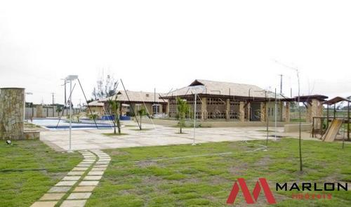 vt00886 terreno condominio horizonte em macaiba